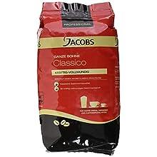 Jacobs Professional Classico , 1kg Bohnenkaffee, ganze Bohne, kräftig-vollmundiger Geschmack, für Caffè Crema, Espresso oder weitere Kaffeespezialitäten
