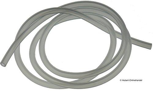 2m Silikonschlauch Milchschlauch (4,98€/m) für Gaggenau, Neff, Bosch & Siemens...