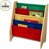 Kidkraft 14226 - Biblioteca de bolsillos colores primarios