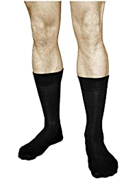 vitsocks Calcetines BAMBÚ Hombre (3 PARES) Finos Suaves Transpirables Lisos Casuales
