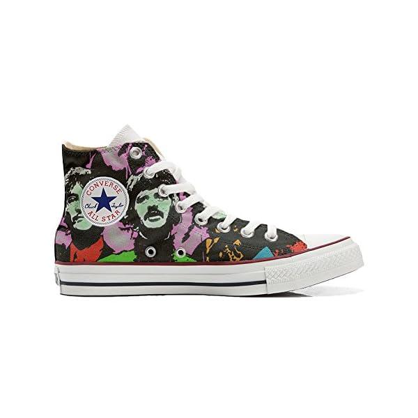 Converse Personalizados All Star Customized – Zapatos Personalizados (Producto Artesano) Beatles