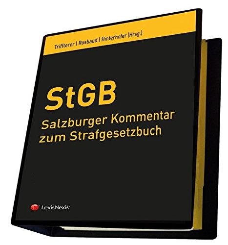 Salzburger Kommentar zum Strafgesetzbuch: Gesamtwerk inkl. 34. Lfg. (Loseblatt)