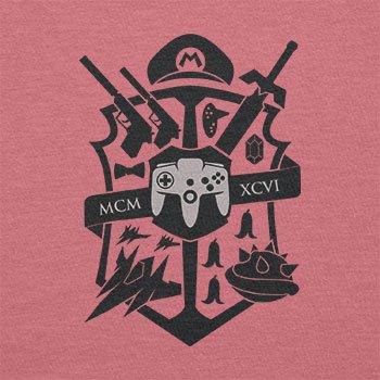 Texlab–Big Gaming Logo–sacchetto di stoffa Pink