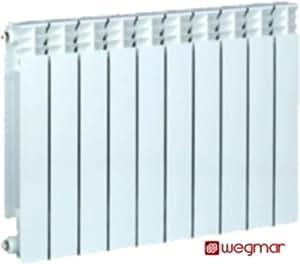 aluminium heizk rper heizungssegmente flachheizk rper wei calanda580 10 segmente rippen. Black Bedroom Furniture Sets. Home Design Ideas