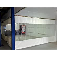 Cortina, separador,–Cortina, lona PVC, maßgerecht, Oferta Especial 650g/m², 1m²