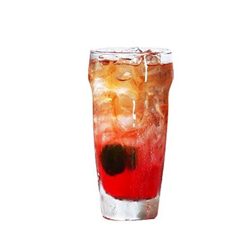 Black Temptation Elegante Goblet Party Gläser Heavy Base Saft Gläser Trinken Wein Cups, A 7