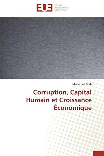 Corruption, capital humain et croissance économique