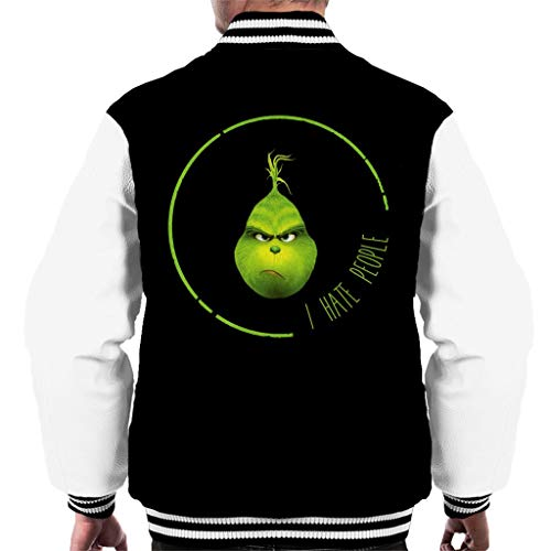 Cloud City 7 I Hate People Grinch Men's Varsity Jacket