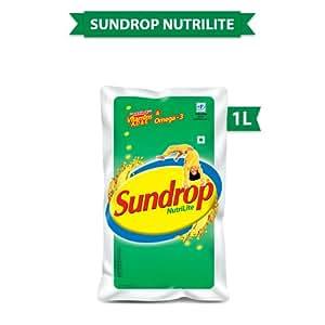 Sundrop Oil, Nutrilite Soyabean 1L Pouch