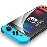 Syncwire Nintendo Switch Screen Protector Tempered Glass Screen Protector for Nintendo Switch (2-Pack) - [Bubble-Free, HD, Shatter-Proof, Scratch-Resistant, Easy-Install]