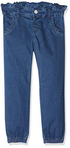 NAME IT NAME IT Baby-Mädchen Hose NMFBIBI DNMTRINET 2167 Pant Blau (Medium Blue Denim), Herstellergröße:80