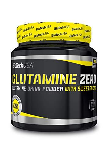 BiotechUSA Glutamin Zero 300 g Pulver Zitrone