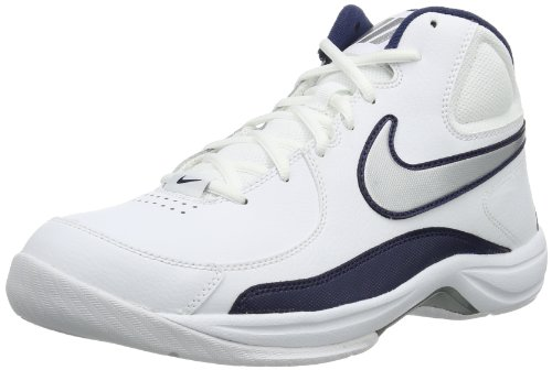 Nike the Overplay VII, Chaussures de Sport-Basketball Homme - White