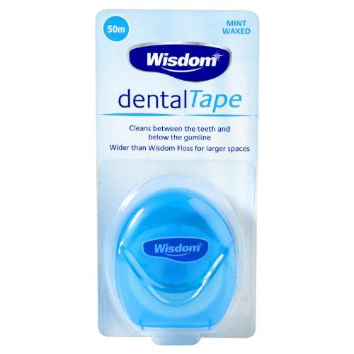 Wisdom Dental Tape 50m (Pack von 3)