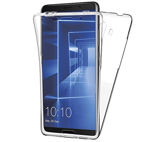 4ae8fe6163d MovilCom - Funda Huawei Mate 10 Transparente Ultra Fina Doble 360 | Clear  View | Delantera