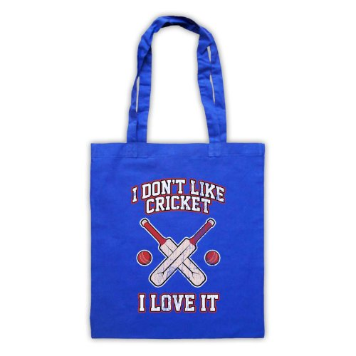 I Don't Like Cricket, I Love It-Borsa Blu