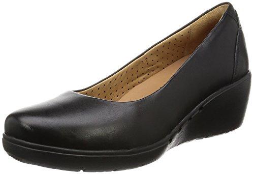 clarks-casual-mujer-zapatos-un-cass-en-piel-negro-tamao-41