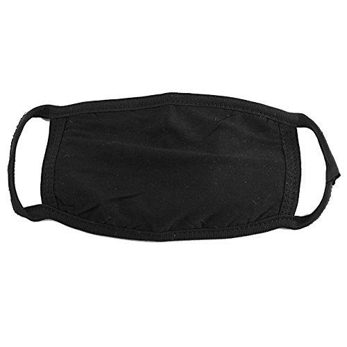 rwachsene Anti-Staub Baumwolle Masken Anti Nebel Warm Face Mund Maske Cechya Mund Cover Radfahren Sicherheit K-POP Fashion Maske verschiedene Verwendung (schwarz) ()