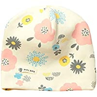 Kentop Gorros de Algodón Sombrero de Sencillo y Generoso para Niñas y Niños bebé