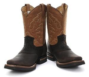 Grinders Frontier Brown Mens Western Cowboy Boots by Grinders