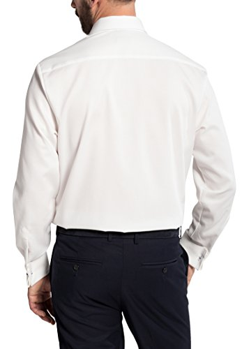 Eterna Long Sleeve Shirt Comfort Fit Marcella Structured Champagne
