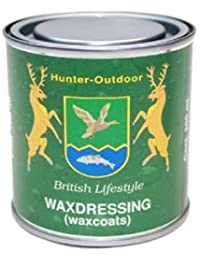 Hunter Outdoor Wax Reproofing Tin 200ml Perfect for rewaxing all Wax Coats, Jackets, Trousers & Hats