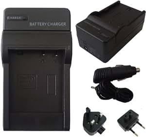 Mobilizers - Chargeur de Batterie de remplacement Caméscope pour NIKON EN-EL3e ENEL3e pour D100 D200 D300 D300s D50 D70 D70s D80 D90 DSLR D700