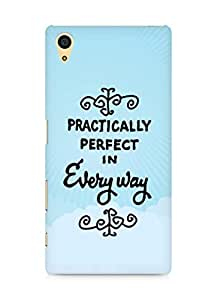 AMEZ practically perfect in every way Back Cover For Sony Xperia Z5