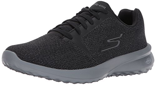 Skechers Herren On-The-go City 3 Laufschuhe, Schwarz (Black/Gray), 43 EU
