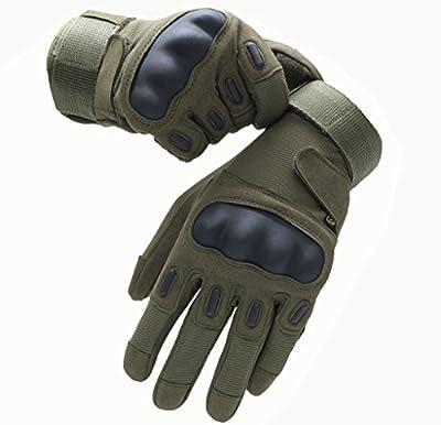 OMGAI®Military Special Ops vollen und halben Finger-Licht-Angriff Handschuhe,Fingerlose Handschuhe Tactical,Airsoft Jagd,Reiten Fahrradhandschuhe,Outdoor Sports,Armee Schießhandschuhe.