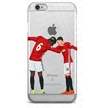Coquefone Coque iPhone 5 / 5S / Se Pogba MU Dab Danse Football Manchester United: Amazon.fr