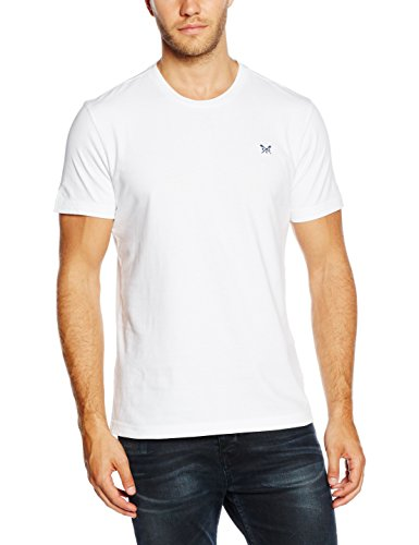 Crew Clothing Herren Sport Top Crew Classic Weiß (Optic White)