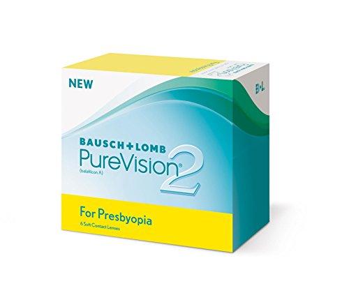 PureVision2 HD for Presbyopia Monatslinsen weich, 6 Stück/BC 8.6 mm/DIA 14.5/ADD LOW/+00.50 - Hd-linsen