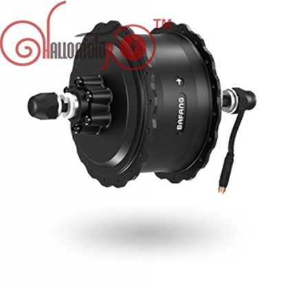 48V 750W 8Fun Bafang Brushless Geared DC Cassette Fat Tire Hub Motor Rear Wheel Dropout Width:190MM (Motor 750w)