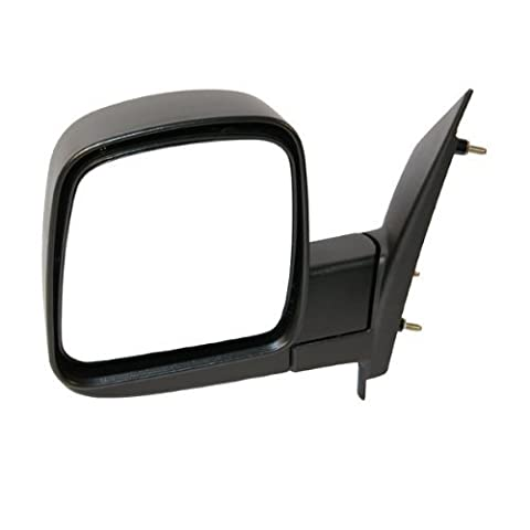 2003-2007 Chevrolet/Chevy Express & GMC Savana 1500, 2500, 3500 Van Manual Black Textured Folding Rear View Mirror Left Driver Side (2003 03 2004 04 2005 05 2006 06 2007 07) by Aftermarket Auto Parts