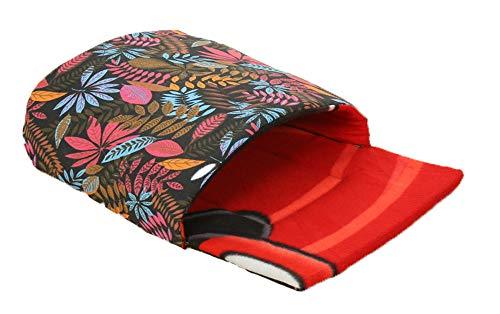 XIAOPANG Mode Druck Pet Nest wasserdichte warme Haustier Schlafsack Car Creative Pet Nest,Red -