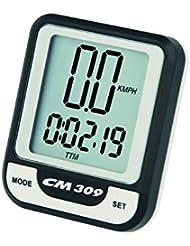 Ciclosport Drahtloser Fahrradcomputer CM 309, Schwarz, 10102309