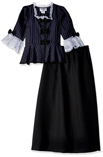 Kinder Girl Colonial Kostüm - Deluxe Colonial Girl Kids Costume by Official Costumes by Official Costumes