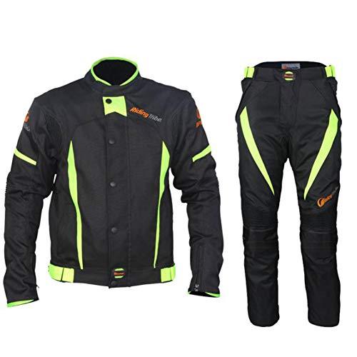 Fahrradbekleidung Set Herren Winterkleidung Atmungsfähig Leicht Radfahren Kleidung Warme Thermalwasserbeständig MTB Mountain Bike Jacke,L