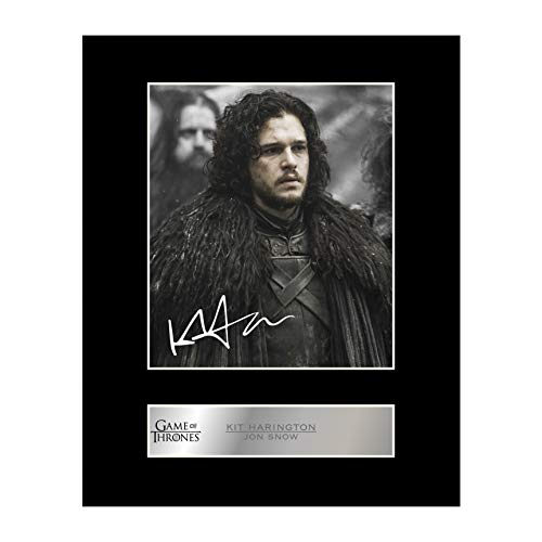 Kit Harington signiertes Foto von Game of Thrones #3, Jon Snow (Pic-fan)