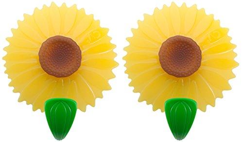 Charles Viancin magnetisch Haken zum Aufhängen, Set 2, Sonnenblume Microwavable Kochen