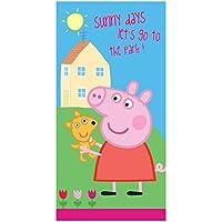 Unbekannt Peppa Pig Wutz 1112300 - Toalla de baño (70 x 140 ...