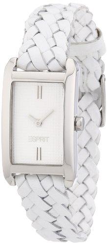 Esprit Damen-Armbanduhr weaves Analog Quarz Leder ES106032003