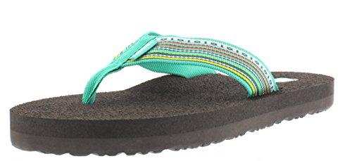 Teva Mush 2 W's, Sandales de sport femme Multicolore - Multicolor (Lmmt)