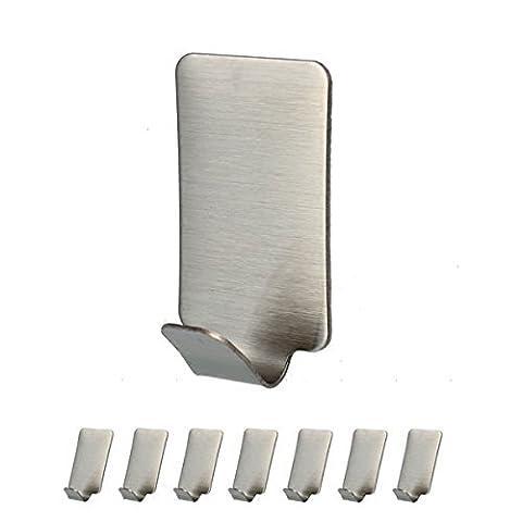 Hanger 3M Self Adhesive Hooks Waterproof 305 Stainless Steel Heavy