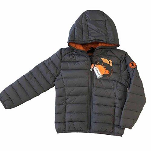 SAVE THE DUCK- giaccone trapuntato fango mod:J3065B art:GIGA (14 anni)