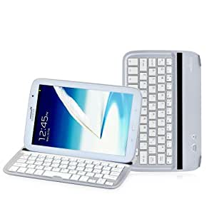 Sharon Ultrathin Aluminium Cover Case Stand with Integrated Bluetooth Keyboard for Samsung Galaxy Note 8