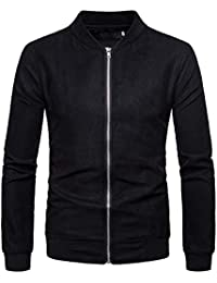 Amazon.it  camoscio giacca - Giacche e cappotti   Uomo  Abbigliamento 446e1b3dc5f