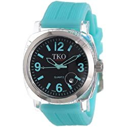 TKO ORLOGI Women's TK549-TT Unisex Milano Remixed Turquoise Watch