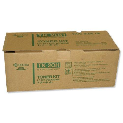 Kyocera Toner Kartusche tk-20H–Schwarz–20.000seiten Ultra Hohe Kapazität echtes Premium Drucker Toner–1T02F90EUC–37027020–Für fs-1700/fs-1700+/fs-1750/fs-3700/fs-3700+/fs-3750/fs-6700/fs-6900 - 1750 Laser